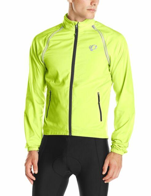 Pearl Izumi Elite Barrier Convertible Men/'s Jacket 11131513 Bright Green Medium