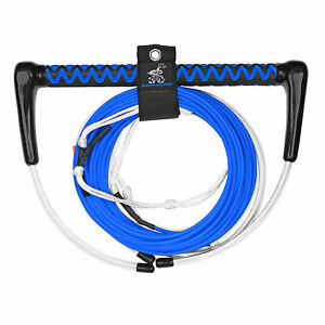 Airhead-AHWR-7-Dyneema-70-Foot-4-Section-Thermal-Boat-Wakeboard-Tow-Rope-Blue