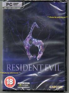 Resident-Evil-6-039-New-amp-Sealed-039-PC-DVD