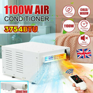 1100W-Window-Wall-Box-Air-Conditioner-Refrigerated-Cooling-Heating-Remote-Timer