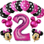 Disney-Mickey-Minnie-Mouse-Birthday-Foil-Latex-Balloons-1st-Birthday-Baby-Shower thumbnail 16