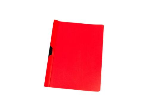Klemmhefter rot Farbe Bewerbungsmappe Cliphefter DIN A4