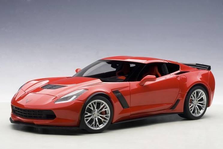 el mejor servicio post-venta 2016 Chevrolet Corvette Antorcha Roja C7 Z06 1 18 de de de Autoart 71262 Totalmente Nuevo En Caja  comprar marca