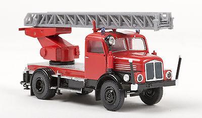 Appena Ifa S 4000-1 Dl 25, Rosso/nero, Pompieri, H0 Auto Modello 1:87, Brekina 71725