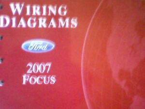 2007 Ford Focus Wiring Diagram Manual | eBay
