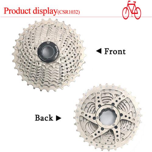 KMC 8//9//10//11S Road Bike Cassette Fit Shimano//SRAM 11-25//28//32//36 Sprocket Chain