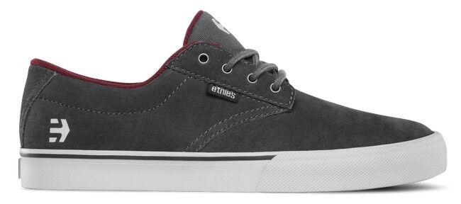 Etnies Jameson Vulc Schuhe Skateboarding/Longboarding Farbe Dark Grey Red
