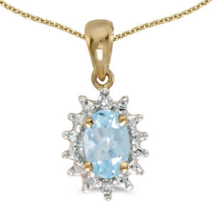 14k-Yellow-Gold-Oval-Aquamarine-and-Diamond-Pendant-no-chain-CM-P1342X-03