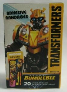 Transformers-BumbleBee-Awesome-Designs-20-Sterile-Adhesive-Bandages