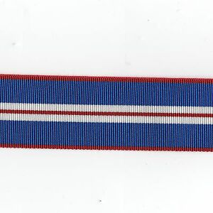 Medal-Ribbon-Queens-Golden-Jubilee-2002-Full-Size-Sold-in-6-034-Lengths