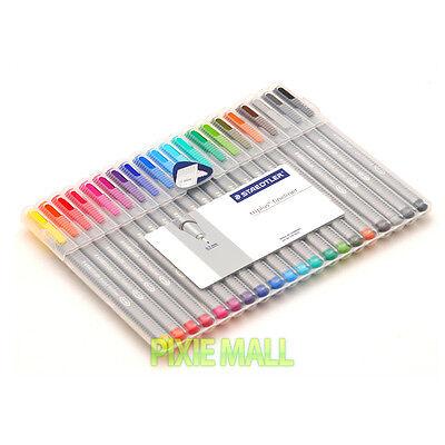 STAEDTLER 334 SB20 Triplus® 0.3 mm fineliner pen - 20 COLOR SET