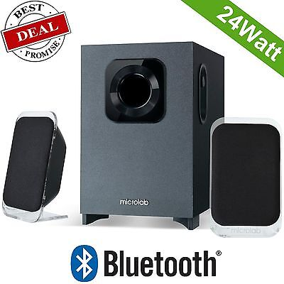 Bluetooth Speaker Wireless Acoustic Hifi Subwoofer Amplifier Home Theater Audio