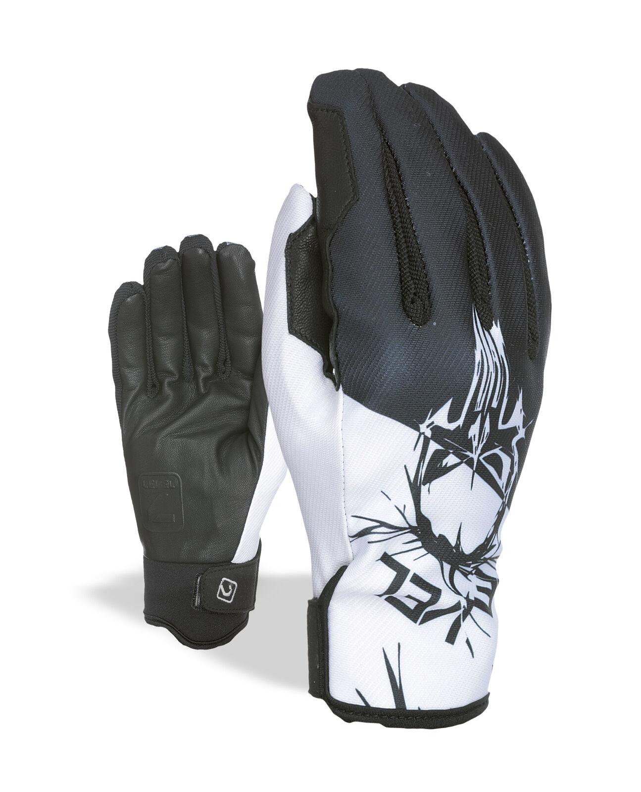 Level Handschuh  Pro Rider schwarz winddicht wasserdicht atmungsaktiv    Sehr gute Qualität