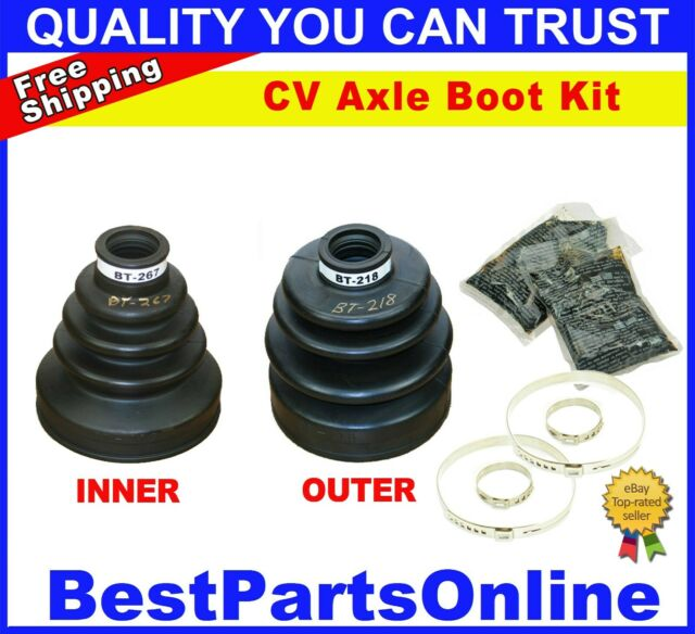 Front Inner & Outer CV Axle Boot For Acura Integra 97-98