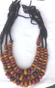 3-Berber-Amber-Necklace-Moroccan-Ethnic-African-Tribal-Beads-Handmade-Jewlry-26
