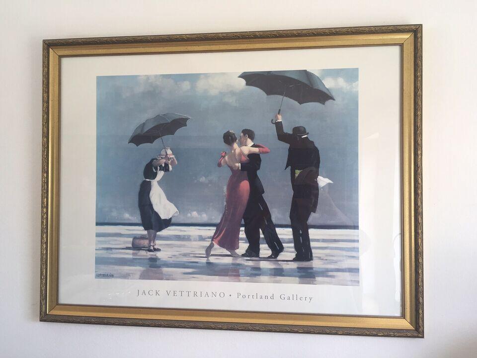 Plakat Jack Vettriano B 88 H 68 Dbadk Køb Og Salg