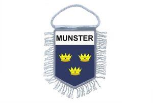Mini-banner-flag-pennant-window-mirror-cars-country-banner-ireland-irish-munster