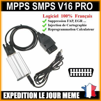 MPPS V3.0 PROFESSIONNEL LOGICIELS FAP EGR ANTIDEMARRAGE AIR BAG