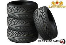 4 X New Lionhart LH-Four 205/40R17 84W All Season High Performance Tires
