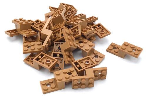 Lego 25 Neu Medium Dark Flesh Klammern 5 X 2 X 1 1/3 mit 2 Löcher Stücke Baukästen & Konstruktion