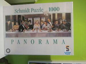 PUZZLE-SCHMIDT-1000-PANORAMA-CENA-DE-FAMOSOS