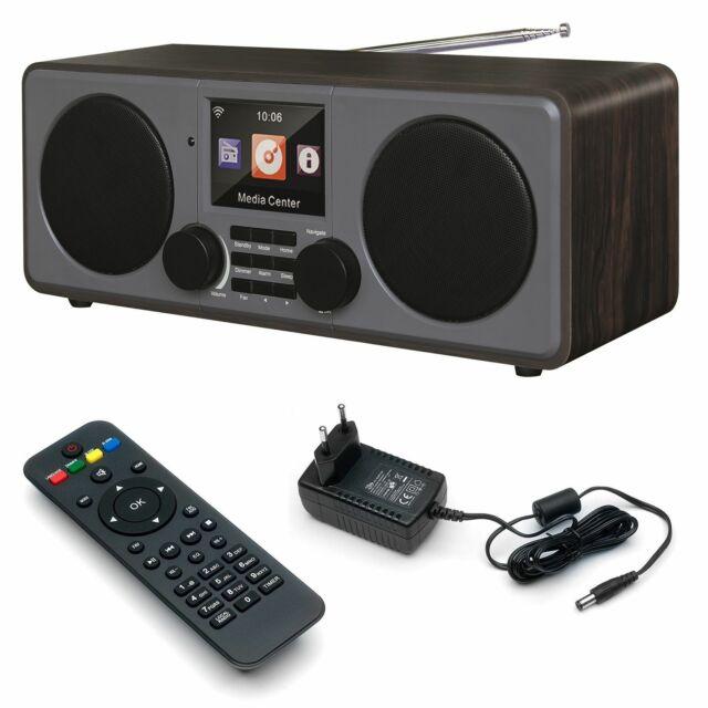 Internetradio DAB Radio XORO DAB 600 IR WLAN Internet Web USB MP3 Wifi Wecker