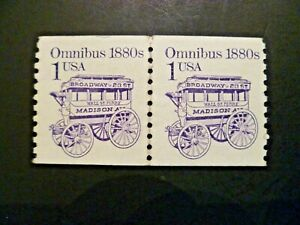 USA 1986 #2225 Transportation Issue Coil Pair MNH - See Description & Images