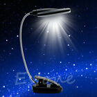 Pro Flexible USB / Battery Power 28 LED Light Clip-on Bed / Desk / Table Lamp
