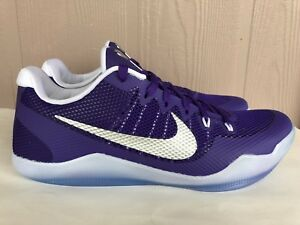 e33b6d985f03b1 Men s Nike Kobe 11 XI TB Promo Basketball Shoes Purple White SZ 14 ...