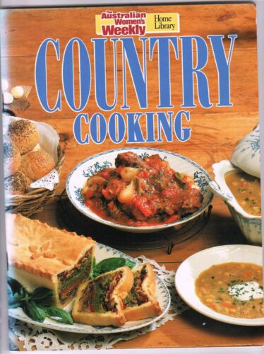1 of 1 - The Australian Women's Weekly COUNTRY COOKING pb vgc clean and uncreased