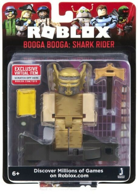 2020 Roblox Core Series 7 Booga Shark Rider Virtual Item Game Code