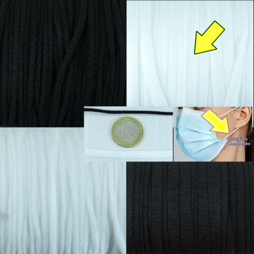 5mm Elastique Elastic 15//50//100 Meter Elastische Soft 2,5mm