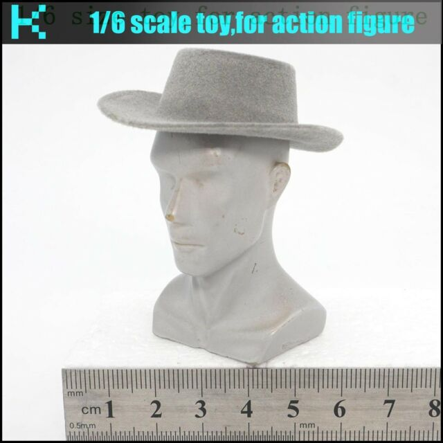 """Brown Cowboy Hat Cap For 1//6 Scale 12/"""" Action Figure 1:6 Model HT Phicen Toy"""
