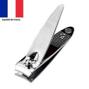 Coupe-Ongles-en-metal-Acier-inoxydable-Lime-a-ongle-Manucure