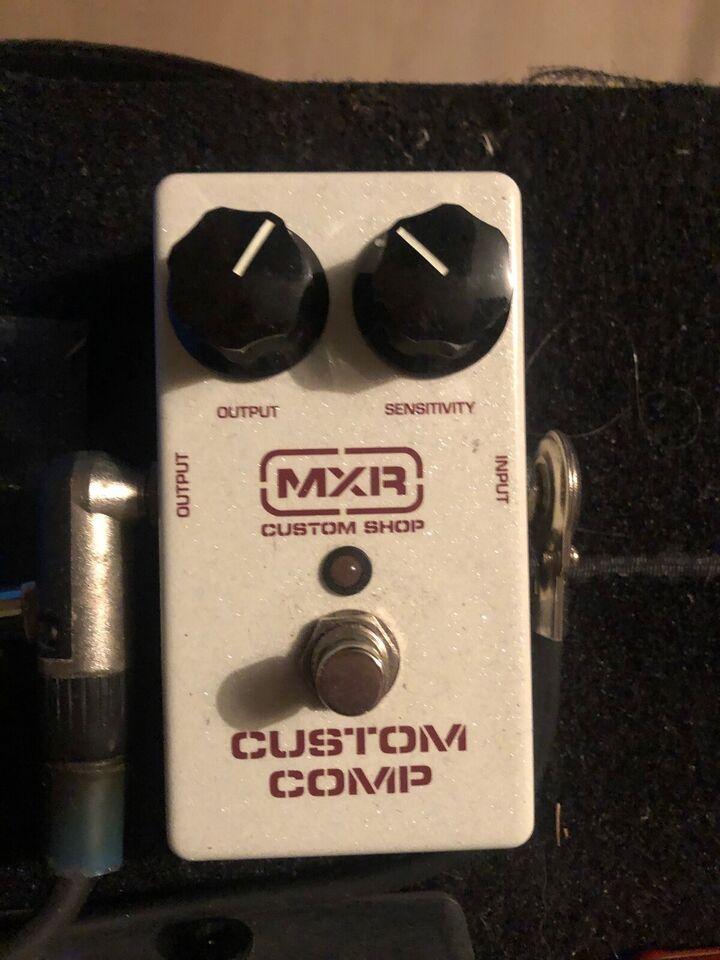 Guitar pedaler, MXR, Wampler