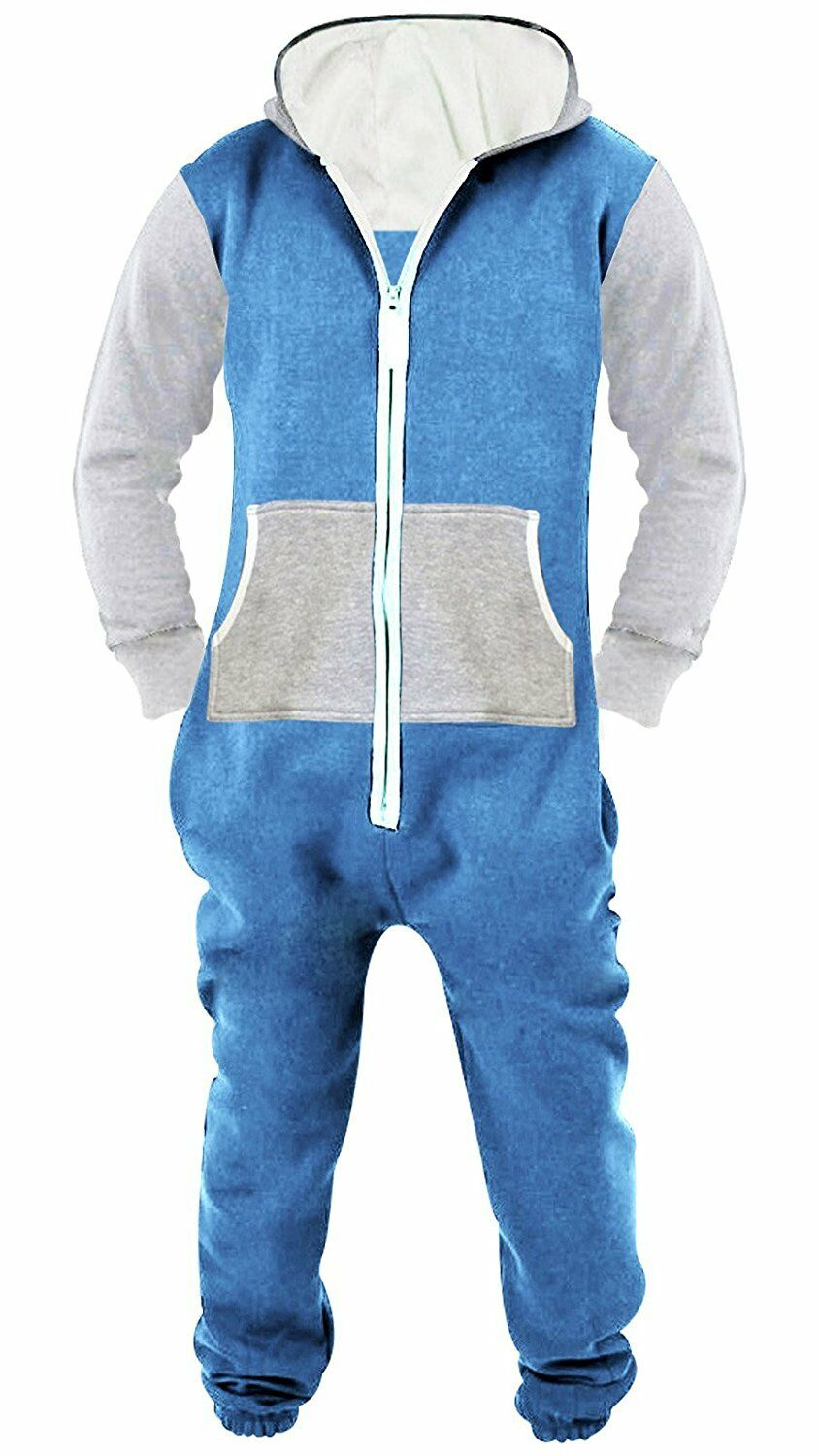 3f89ec0f6717 SkylineWears Men s Unisex Onesie Jumpsuit One Piece Non Footed Pajama  Playsuit