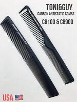 2 Pcs Toni&guy Professional Carbon Fiber Combs Anti Static Barber Tool Usa