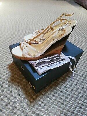 2019 Ultimo Disegno Scarpe Sandali Donna In Vernice Color Bianco