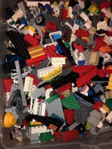LEGO  1//4 Pound 4 Oz Bulk Assorted Colors Bricks Plates Special Pieces /& More