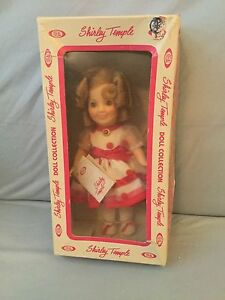 Vintage-1982-Shirley-Temple-Classic-Doll-034-Stand-up-and-Cheer-034-New-in-Box-8-034-Doll
