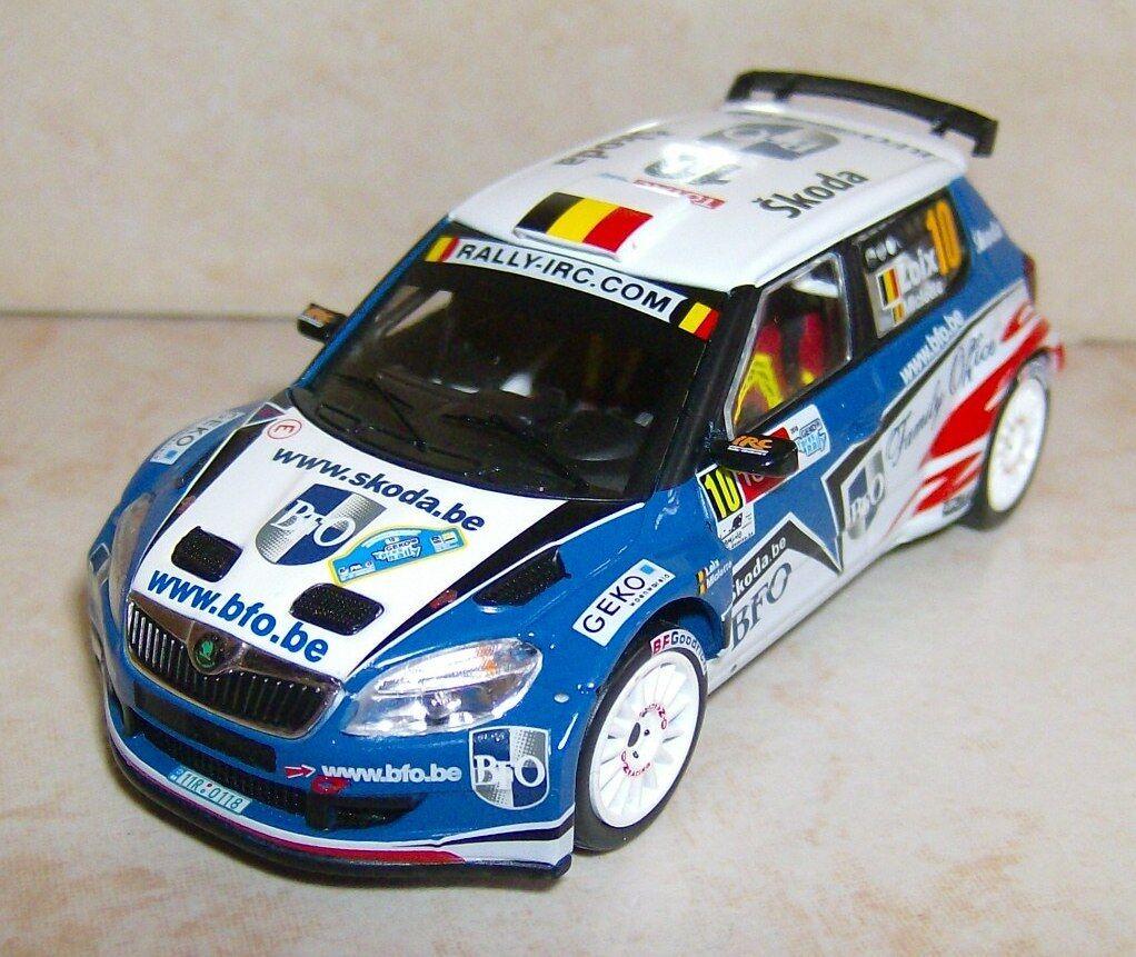 SKODA FABIA S2000 WINNER YPRES RALLYE 2010 FrougeDY LOIX  IXO