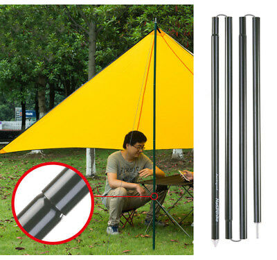 Replacement Canopy Porch Tent Poles for Tarp Tent Cover Awning 320cm Fuchsia