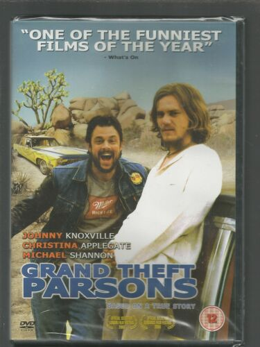 1 of 1 - GRAND THEFT PARSONS - Johnny Knoxville - UK REGION 2 DVD - sealed/new