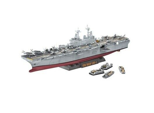 Revell 05104 - 1 350 Uss Wasp (LHD-1) - New