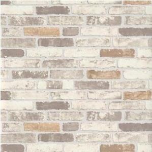 Erismann Brix Mur De Briques Effet En Relief Papier Peint Vinyle