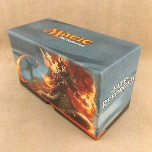 MTG Fate Reforged Fat Pack Bundle Storage Box - Storage Box Only - No Cards