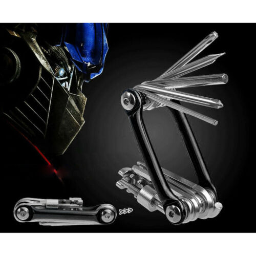 11 In 1 Cycling Bike Bicycle MTB Repair Tool Kit Screwdriver Wrench Chain Cutter