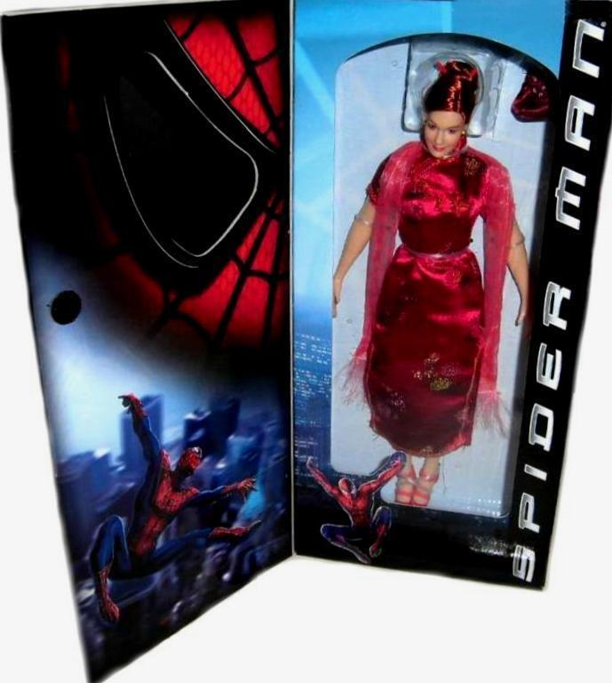 Spiderman - film 12  mary jane neue fabrik versiegelt, 2001