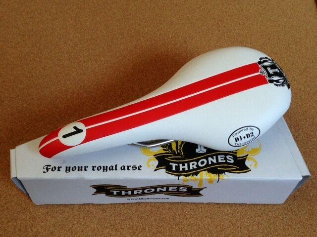 THRONES Saddle -  Speed Demon  with Titanium Rails