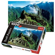 Trefl 1000 Piece Adult Large Machu Picchu Peru Mountains Floor Jigsaw Puzzle NEW